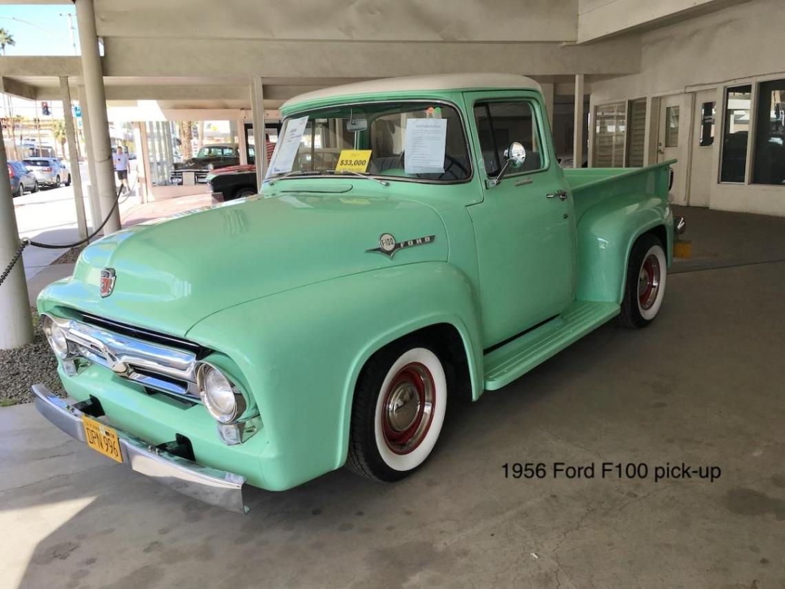 1956 Ford F100 pick-up