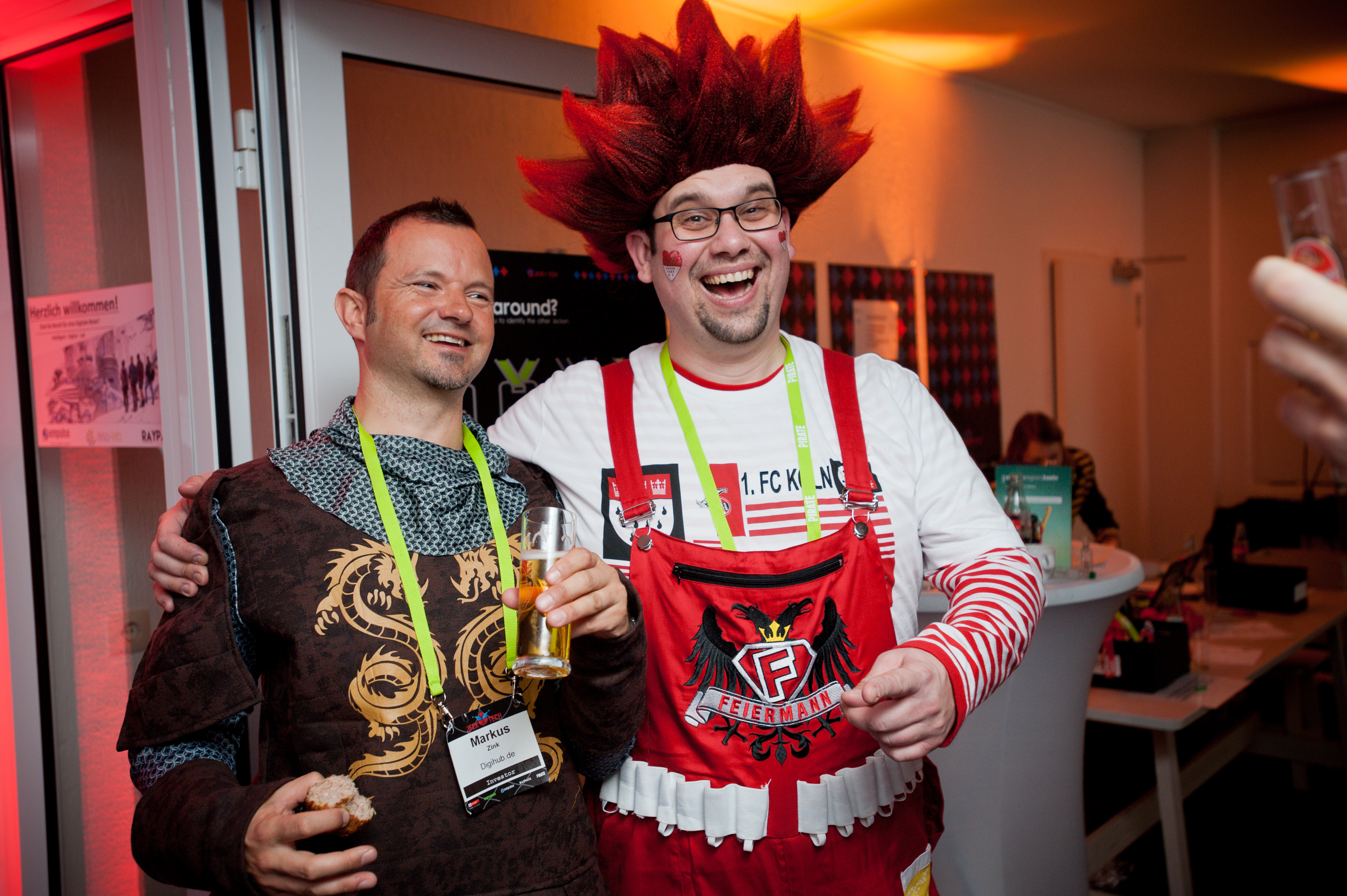 """Jeck'n'Tech is the premier event in the Cologne Karneval uniting Tech and Cologne Tradition. A must-go-to event. Great people, great fun. Can't wait to go!"""