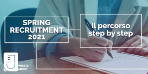 Spring Recruitment 2021: il percorso step by step