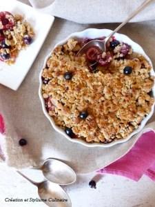 Une irrésistible recette sans gluten pour les gourmands de fruits rouges