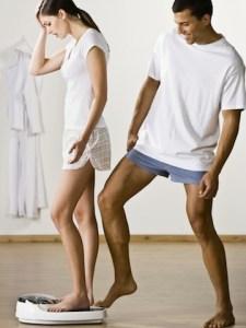 Homme-femme-balance