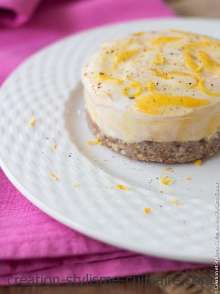 Cheesecake sans gluten vegan