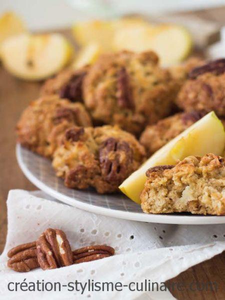 cookies sans gluten pomme pécan