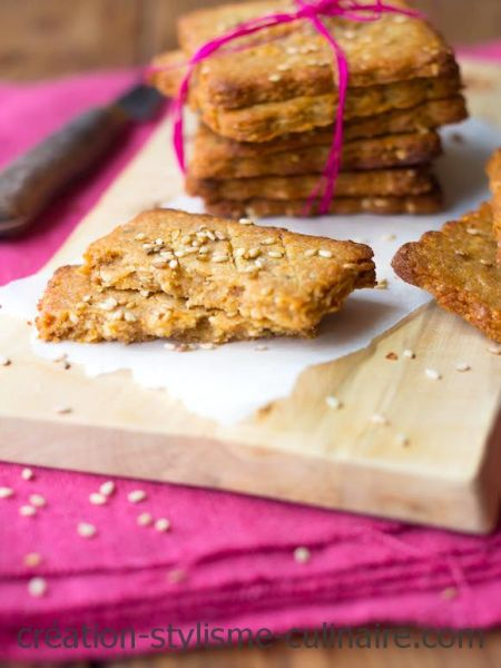 biscuits sans gluten au sésame
