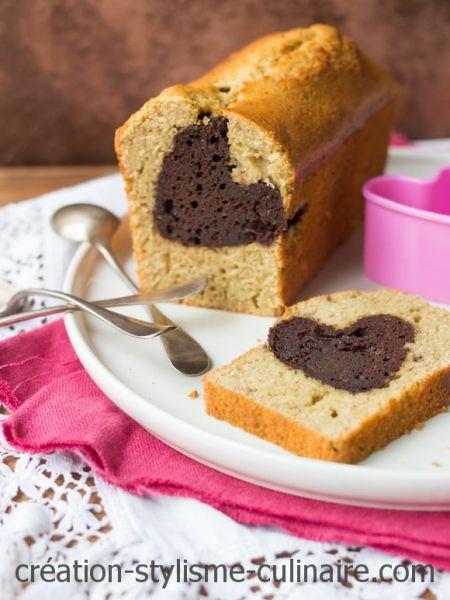cake sans gluten coeur chocolat-