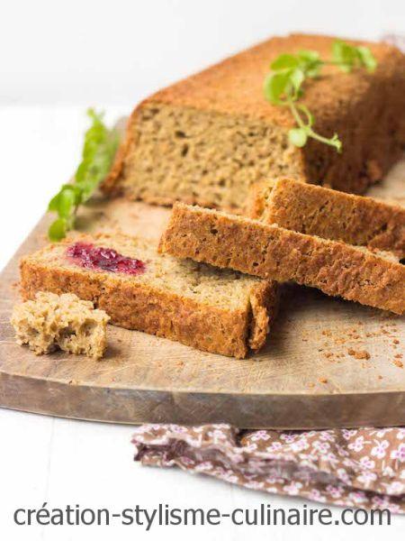 Mie moelleuse et conservation longue pour ce pain sans gluten au levain