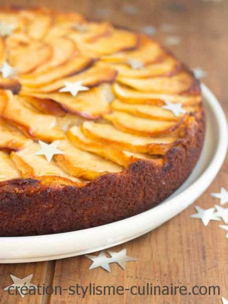 Moelleux pomme frangipane sans gluten
