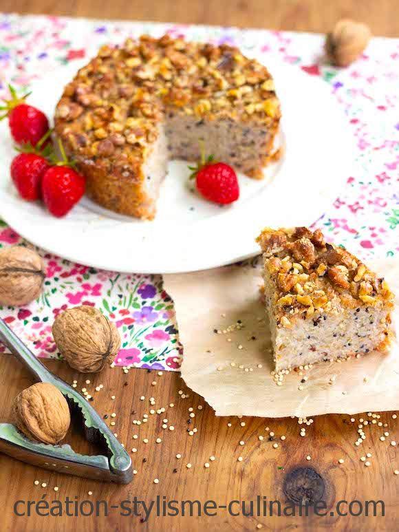 gâteau au quinoa