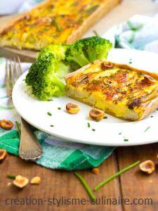 tarte sans gluten aux asperges
