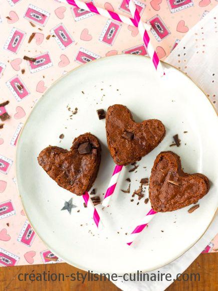 gâteau au chocolat sans gluten coeur st valentin