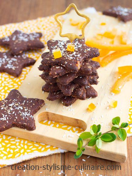 biscuits sans gluten écorces d'orange