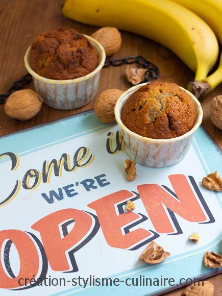 Irrésistibles muffins à la banane et aux pépites de chocolat