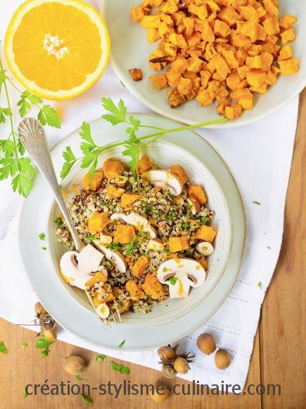 Poêlée de quinoa d'automne