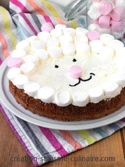gateau anniversaire sans gluten mouton