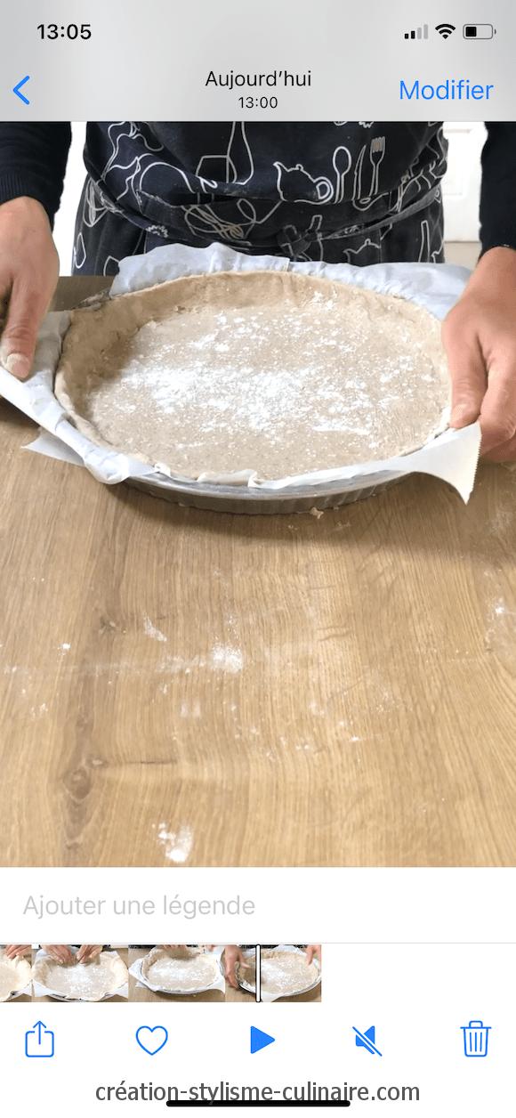 tutoriel pate a tarte sans gluten