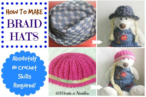 no crochet braid hats