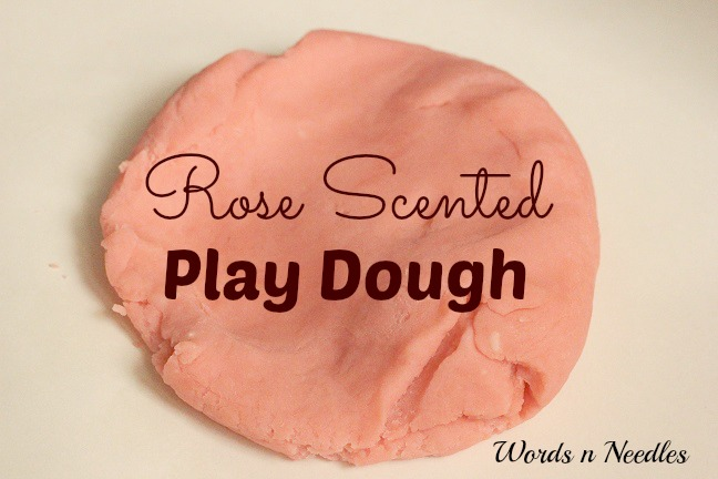 The Rose Scented Rooh Afza Play Dough!