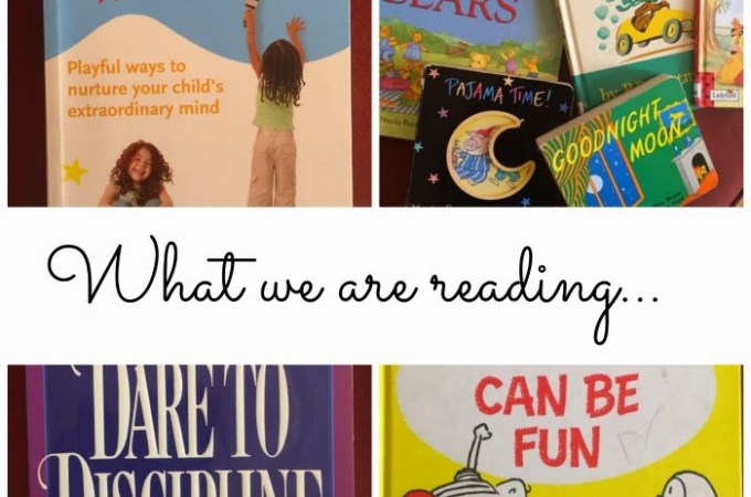 What We Are Reading… Books To Read With A Toddler and Big Kid