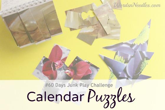 calendar puzzles wordsnneedles