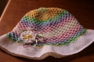 reverse single crochet edge