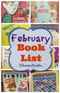 february kids books list toddler big kid wordsnneedles