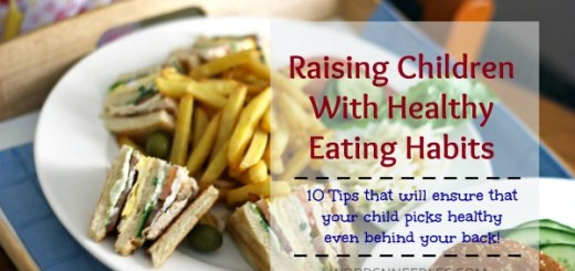 healthy eating habits children wordsnneedles