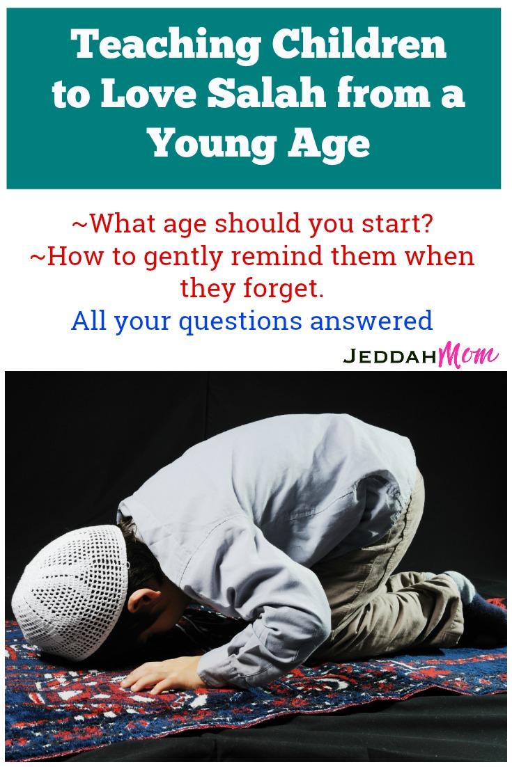 How to teach a child to love salah JeddahMom