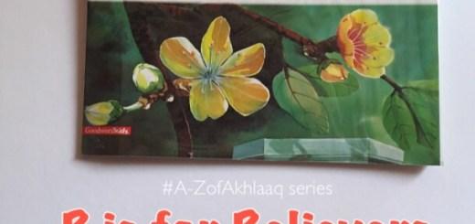 believer a-zofakhlaaq ramadan activity kids