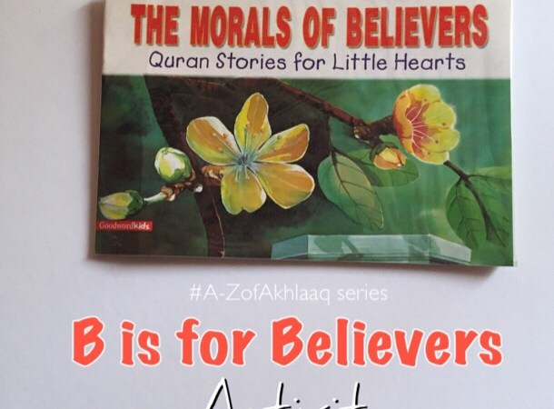 The Morals of Believer Book and Activity