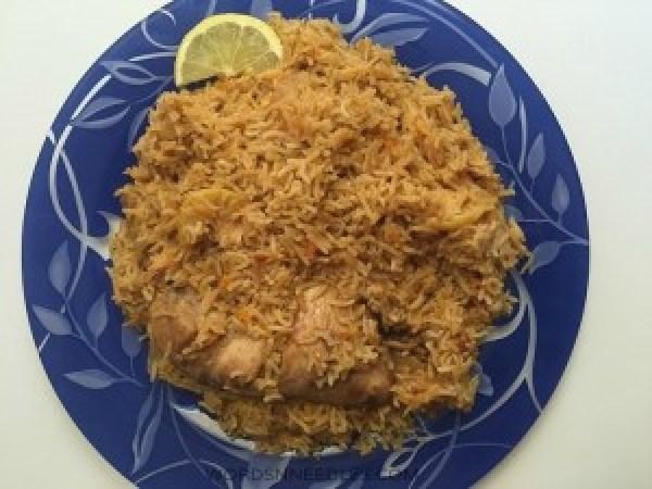 saudi Kabsa Recipe Menu for Eid Ramdan for Kids WordsnNeedles
