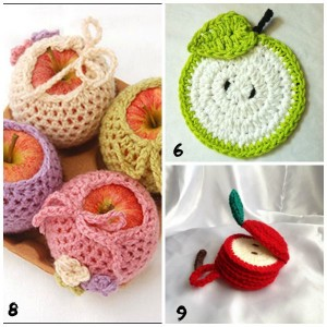apple fall crochet projects for teens tweens