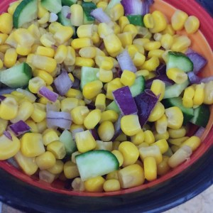 corn and cucumber salad recipe healthy kids simple food