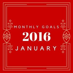 monthly goals january wordsnneedles