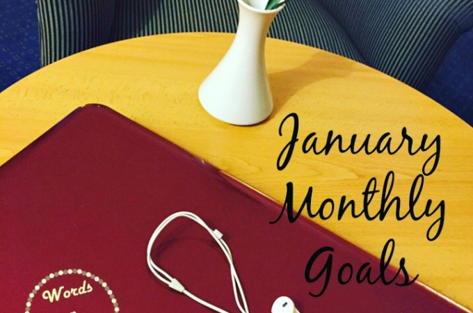 january monthly goals
