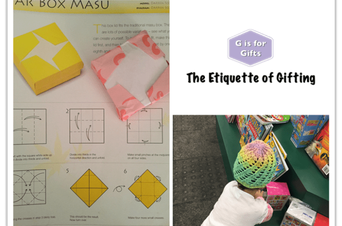 The Etiquette of Gifting: G is for Gifts