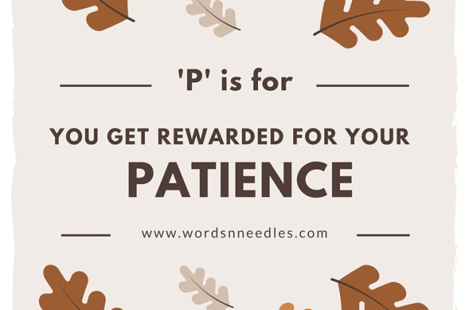 P is for Patience – Sabr