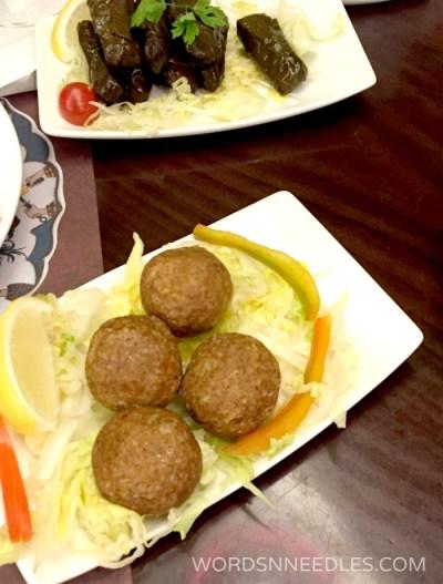 icli kofte Kosebasi Restaurant WordsnNeedles