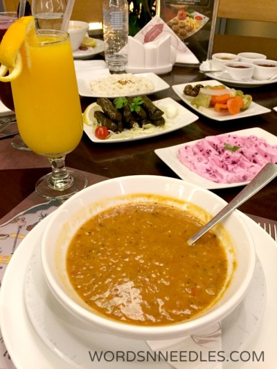 Lentil Soup and Mezze Kosebasi Restaurant Jeddah