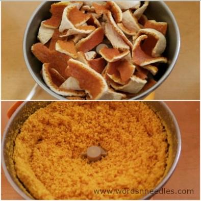 orange peel powder face mask 4