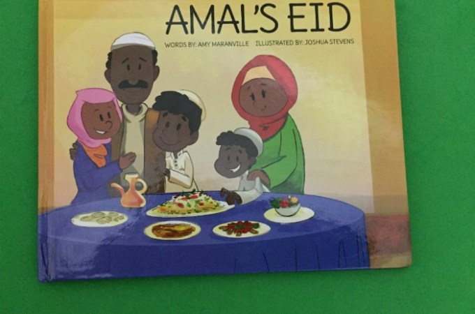 Amal's Eid book review Tradition culture and diversity Multicultural books