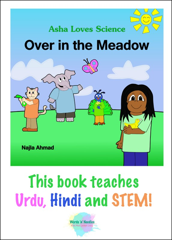 Asha loves science Over in the Meadow book review