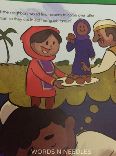 Teaching about Food Amal's Eid book