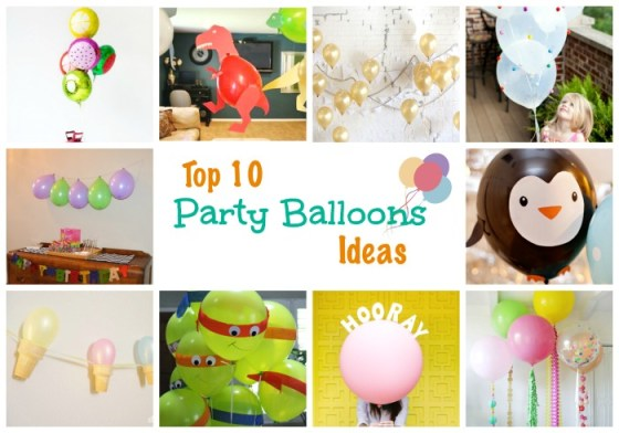 Top 10 Party Balloon ideas from Words n Needles