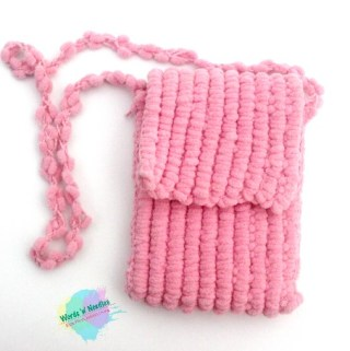 popcorn yarn crochet bag plus free pattern