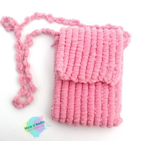 How to crochet with Popcorn yarn + Crochet bag