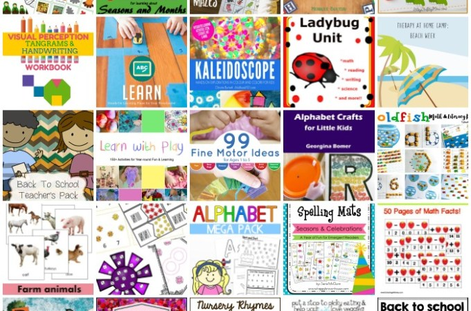 Back to school bundle or resources for parents, homeschool and teachers.