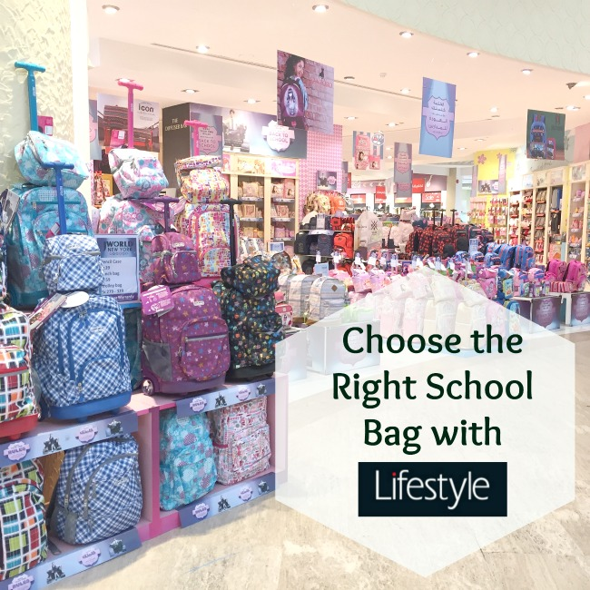 eaad0879e52d0 Choose the right school bag with Lifestyle stores words needles Jeddah mom  Saudi living back to
