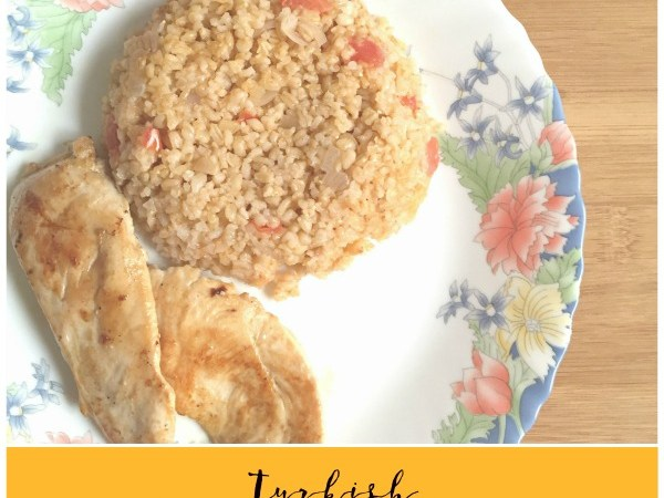 Turkish Bulgur Wheat Pilaf Recipe