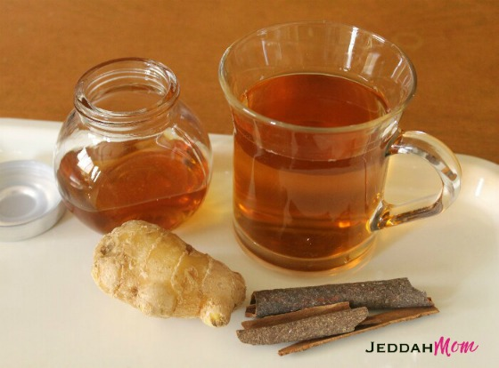 Ginger-Cinnamon Tea: Home Remedy for chronic Cough and allergies
