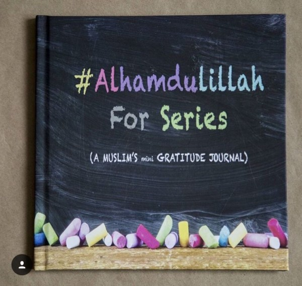 Alhamdulillah for series gratitude journal a colorful illustrated journal for muslim kids